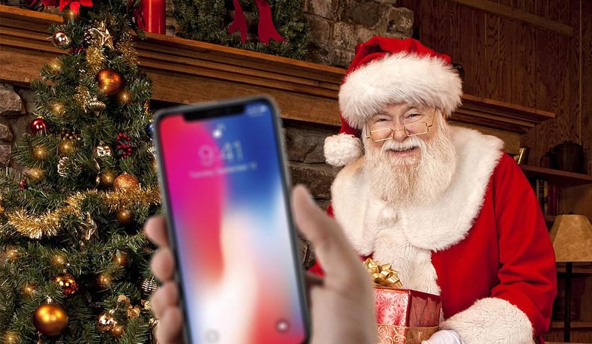 Вместо IPhone Х – в гости к Санта-Клаусу
