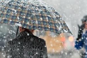 Италию накроют дожди и метели
