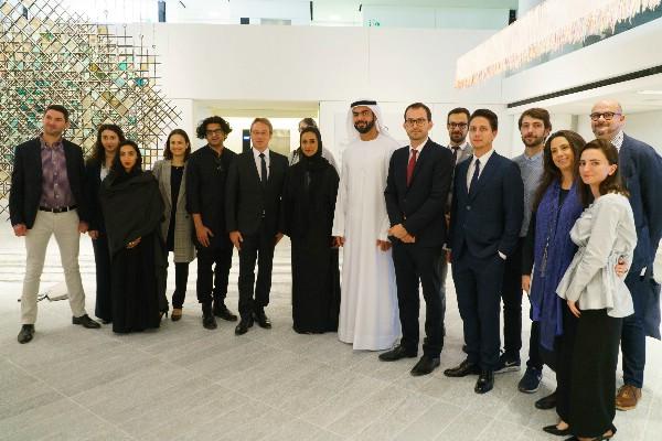 Новые экспозиции Лувра Абу-Даби