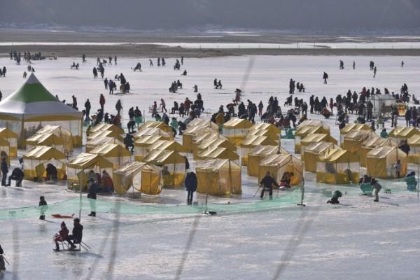 Фестиваль корюшки в Инчже