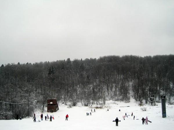 Горнолыжная трасса откроется в феврале на Черневской горке в Красногорске