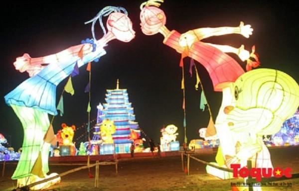 Хошимин впервые проводит Фестиваль гигантских фонарей