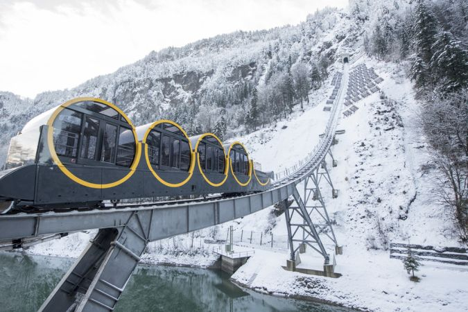 Самая крутая железная дорога — под Цюрихом