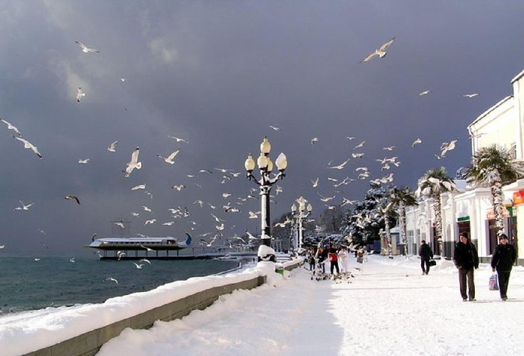 На новогодние каникулы Крым ждет до 100 тысяч туристов