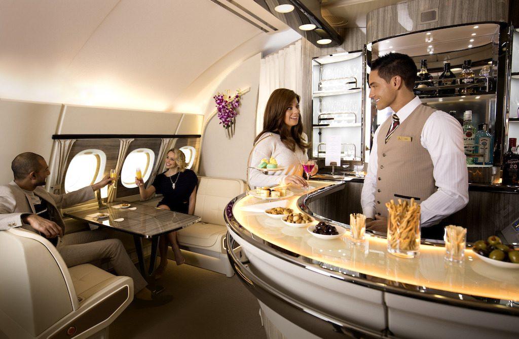 Названы авиакомпании с лучшим сервисом на борту